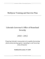 Multiyear training and exercise plan