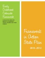 Framework in action state plan 2010-2012