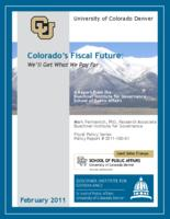 Colorado's fiscal future
