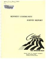 Bennett community survey report
