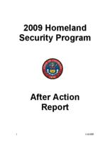 2009 homeland security program