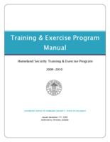 Training & exercise program manual