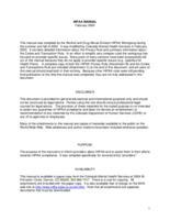 HIPAA manual