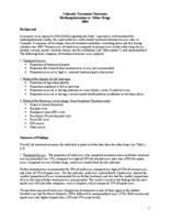 Colorado treatment outcomes, methamphetamine vs. other drugs, 2004