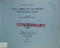 Coal mines of Colorado
