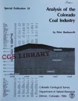 Analysis of the Colorado coal industry