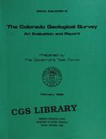 The Colorado Geological Survey