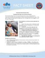 Colorado child welfare plan, keeping kids safe and families healthy