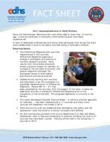2011 accomplishments in child welfare