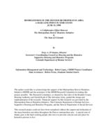 Homelessness in the Denver metropolitan area : a base line point in time study, June 15, 1998 : a collaborative effort between the Metropolitan Denver Homeless Initiative & the State of Colorado
