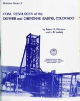 Coal resources of the Denver and Cheyenne Basins, Colorado