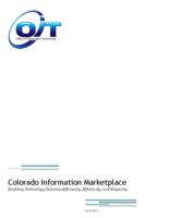 Colorado information marketplace