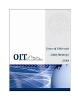 State of Colorado data strategy 2010