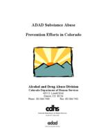 ADAD substance abuse prevention efforts in Colorado