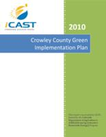 Crowley County green implementation plan