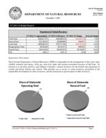 Department of Natural Resources FY 2013-14 budget request