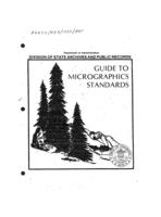 Guide to micrographics standards