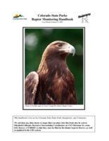 Colorado State Parks raptor monitoring handbook
