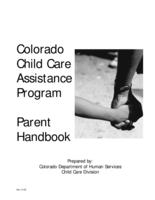 Colorado Child Care Assistance Program parent handbook