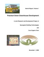 Practical green greenhouse development