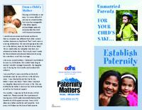 Unmarried parents for your child's sake, establish paternity