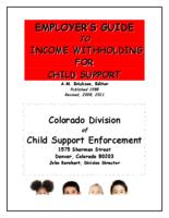 Employer's guide to income withholding for child support