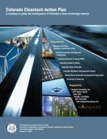 Colorado cleantech action plan : a roadmap to guide the development of Colorado's clean technology industry