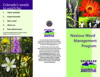 Noxious Weed Management Program