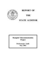 Beanpole telecommunication project, performance audit