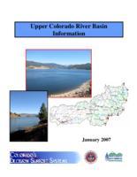 Upper Colorado River Basin information