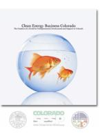 Clean energy business Colorado : the creation of a model for entrepreneurial development and support in Colorado