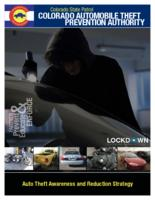 Auto theft awareness and reduction strategy
