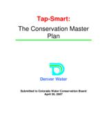 Tap-smart, the conservation master plan
