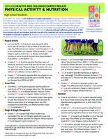 2011-2012 Healthy kids Colorado survey results. Physical activity & nutrition, high school students