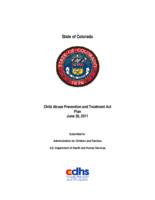 Child Abuse Prevention and Treatment Act plan, June 30, 2011