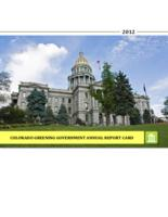 Colorado greening government annual report card