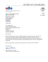 Community mental health services block grant plan : FFY 2007 (year three) modification report
