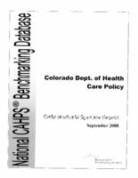 2008 CAHPS health plan survey, child Medicaid sponsor report