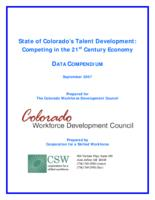 The State of Colorado's talent development : competing in the 21st century economy. Data Compendium