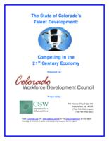 The State of Colorado's talent development : competing in the 21st century economy