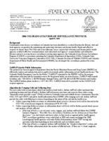 2006 Colorado avian disease surveillance protocol