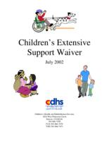 Children's Extensive Support waiver