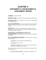 Arkansas River recreation management plan. Chapter 4: Supplemental Environmental Assessment Record