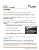 2008 Colorado Statewide Comprehensive Outdoor Recreation Plan. SCORP Regional Profiles