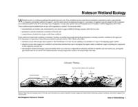 Best management practices for wetlands within Colorado state parks. Notes on Wetland Ecology 1