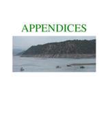 Trinidad Lake State Park : management plan update, 2001. Appendices