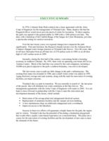 Trinidad Lake State Park : management plan update, 2001. Executive Summary