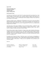 Governor's Task Force on Civil Justice Reform final report. Introductory Letter