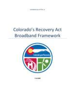Colorado's Recovery Act broadband framework