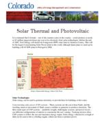 Solar thermal and photovoltaic